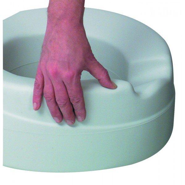 Tualetes poda paaugstinājums Contact Plus ar vāku