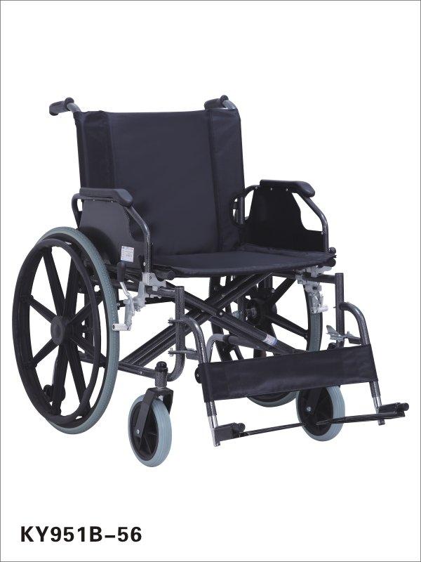 Ratiņkrēsls KY951B-56, liela izmēra cilvēkiem