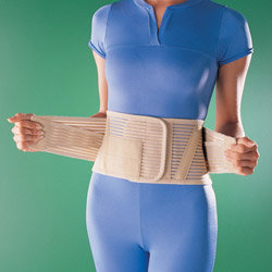 Crucifixion belt orthosis with silicone pad.2263