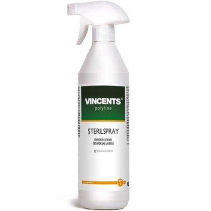 Sterilspray - universāls virsmu dezinfekcijas līdzeklis (ar izsmidzinātāju) 0.75l